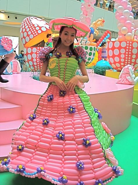 rochie din balon