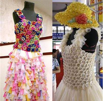 rochii ciudate din prezervative