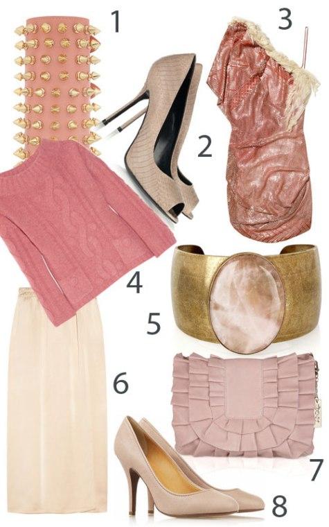 tendinte in moda roz somon