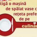 Castiga o masina de spalat vase pe culinar.ro