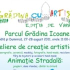 Parcul Gradina Icoanei devine Gradina cu Artisti