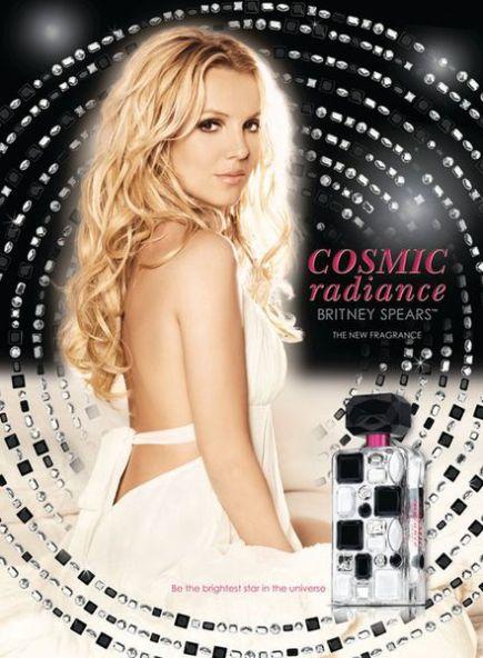lansare de parfum - Britney Spears Cosmic Radiance