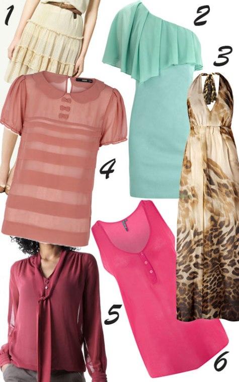 shopping articole vestimentare transparente