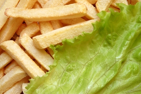 cartofi pai si salata