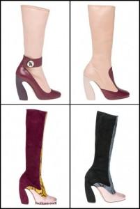 colectia cu cizme prada