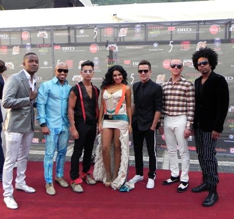 elena de la mandinga la Romanian Music Awards