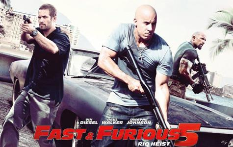 film de actiune - fast and furious 5