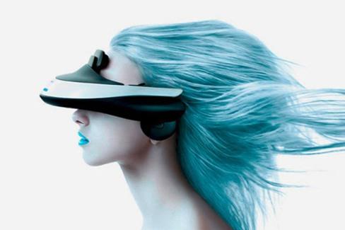casca 3D cu ecran OLED de la Sony
