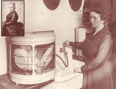 inventatoarea masinii de spalat vase