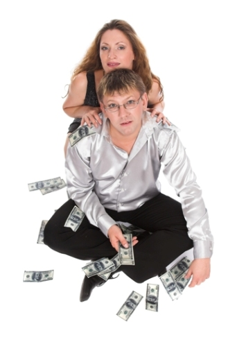 relatie pe bani