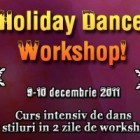 7 stiluri de dans, 2 zile de workshop!