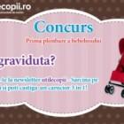 Concurs: Prima plimbare a bebelusului