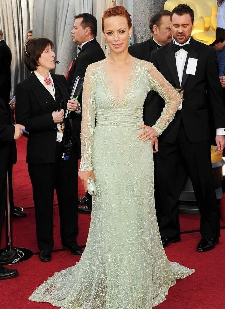 Berenice Bejo In o rochie superba de la Elie Saab
