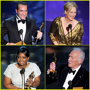 Oscars Winners list 2012
