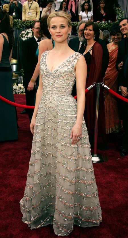 Reese  Witherspoon a purtat o rochie Vintage Dior
