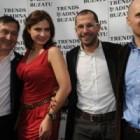 Adina Buzatu a celebrat primavara la magazinul TRENDS din Calea Victoriei
