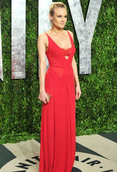Diane Kruger a ales o rochie de la Calvin Klein Collection