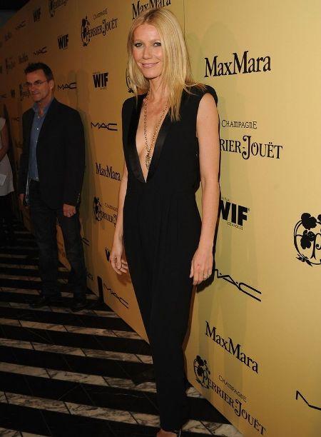 Gwyneth Paltrow a ales o rochie de la Band of Outsiders, colectia pentru toamna-iarna 2012