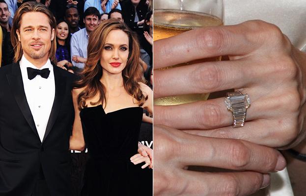 inelul lui Jolie este si cel mai frumos si mai personalizat