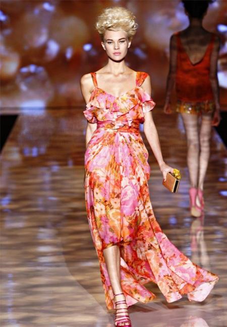 rochie superba, feminina si eleganta, din matase, asimetrica