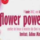 Flower Power, atelier de brose si bentite din flori textile