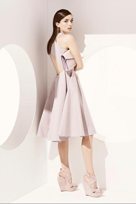 Rochie midi Christian Dior