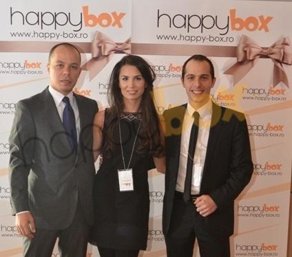 Echipa happybox - Marius, Denisa si Valentin Avram