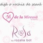 Castiga o rochie de seara cu M de la Mireasa si Rosa!