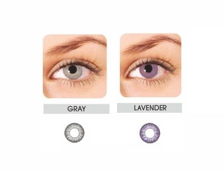 Lentile de contact pentru ochi deschisi la culoare