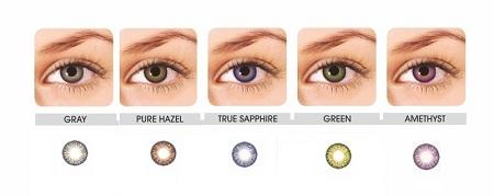 Lentile de contact pentru ochi inchisi la culoare