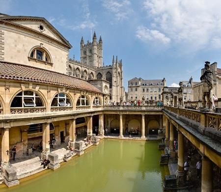 Bai termale, Bath, Anglia