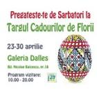 Sala Dalles va asteapta la Targul de Florii