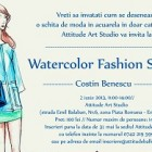 Watercolor Fashion Sketch Workshop