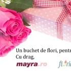 Castiga un buchet de flori romantic, oriunde te-ai afla!