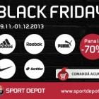 30.000 de produse vor fi la REDUCERI de -40% pana la -70% pe SportDepot.ro de Black Friday