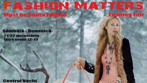 FASHION MATTERS – Must be Santa Edition, targul cadourilor de designer