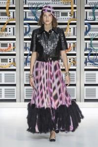 Saptamana modei la Paris, Chanel primavara 2017 - 085