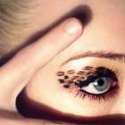 Machiajul leopard pentru ochi