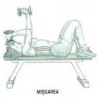 Exercitii fitness: Extensii cu gantere