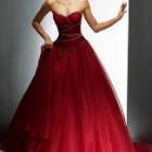 Rochia de mireasa rosie