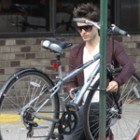 Jared Leto, biciclist de New York