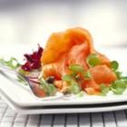 Salata cu somon si rucola