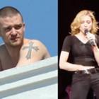 Justin şi Madonna
