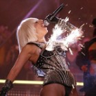 Lady GaGa, show in flacari