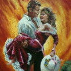 Rhett Butler si Scarlet O'Hara