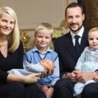 Mette Marit si Printul Haakon al Norvegiei