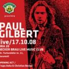 Paul Gilbert la Bucuresti