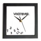 Cat e ceasul? Cui ii pasa!