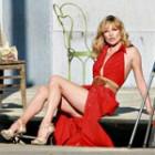 Kate Moss pozeaza pentru Donna Karan