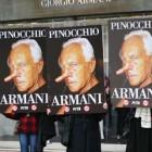 Peta lupta cu Armani